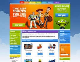 #19 cho Design website for toyshop bởi npapanikolas