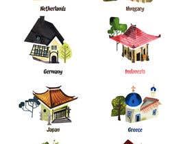 Nro 6 kilpailuun Poster design - Huts/roof top käyttäjältä sengsavane