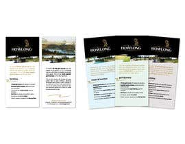 #1 untuk Brochure Design for Howlong Country Golf Club oleh flowdesignbiz