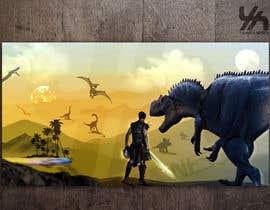 merybaez tarafından Design a Dinosaur Land T-Shirt için no 37