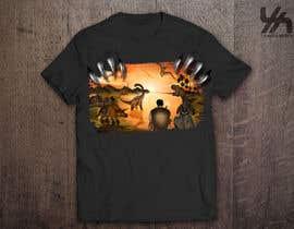 merybaez tarafından Design a Dinosaur Land T-Shirt için no 42