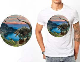 #14 for Design a Dinosaur Land T-Shirt by r3dcolor