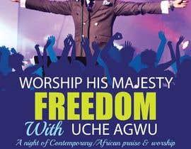 Nro 10 kilpailuun Freedom Concert Flyer - September 2016 käyttäjältä amcgabeykoon