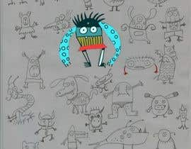 nº 14 pour Create monster drawings for mobile game par unsoftmanbox