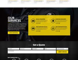 nikil02an tarafından Re-design a website (Landing page for home and content pages) için no 82