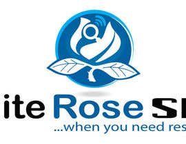 #236 para Logo Design for White Rose SEO (www.whiteroseseo.com) por admirernepali