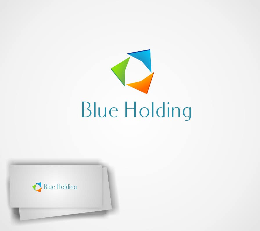 #35 for Logo Design for Blue Holding by syednaveedshah