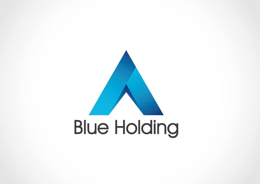 #46 for Logo Design for Blue Holding by Mackenshin