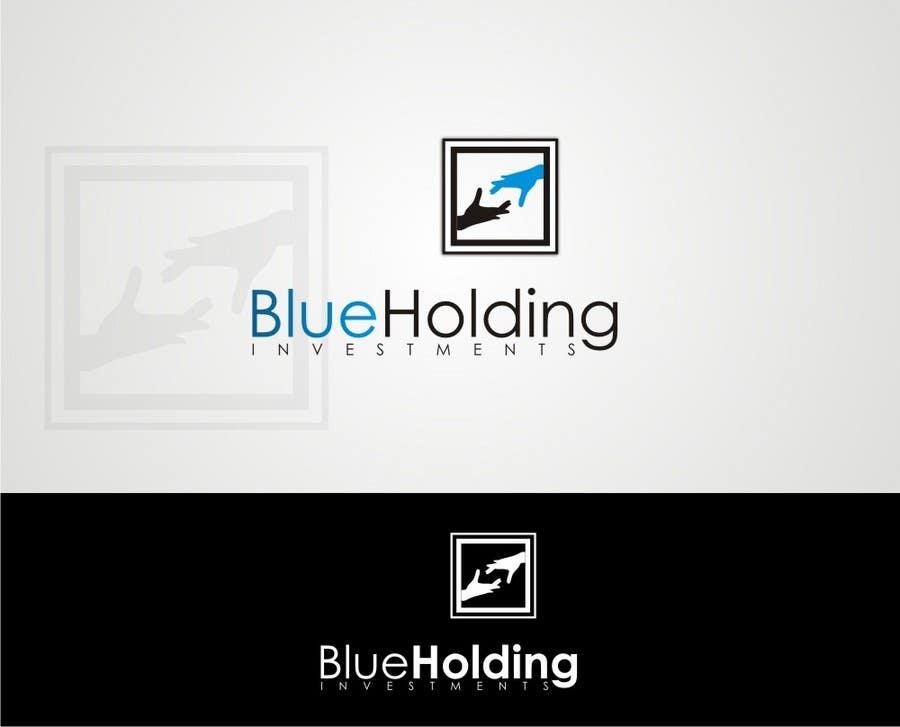 #157 for Logo Design for Blue Holding by JoeMista