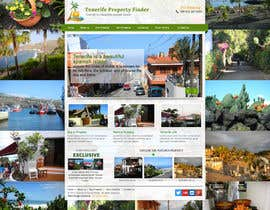 nº 12 pour Design a Website Mockup for a holiday paradise Real Estatate site par sayedphp