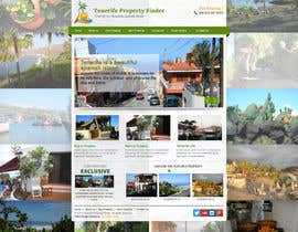 nº 13 pour Design a Website Mockup for a holiday paradise Real Estatate site par sayedphp
