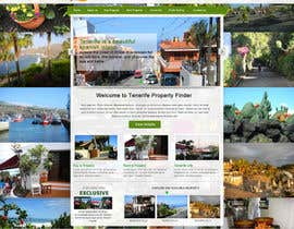 nº 17 pour Design a Website Mockup for a holiday paradise Real Estatate site par sayedphp