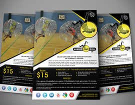 #19 untuk Design a Flyer for Bubbleball Uk oleh tahira11