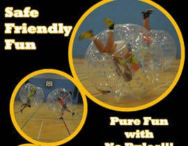 #17 for Design a Flyer for Bubbleball Uk by rishini