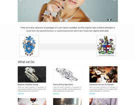 #7 for Website design for a jewellers - Please read the brief. af suryabeniwal