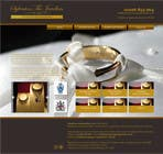 Contest Entry #5 for Website design for a jewellers - Please read the brief.