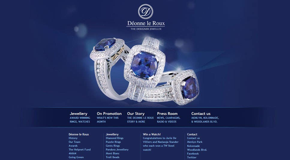 #14 for Website design for a jewellers - Please read the brief. by Mizanurahman1