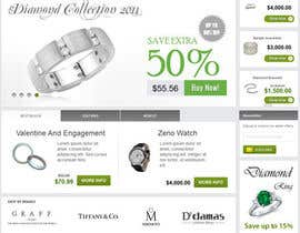 #19 untuk Website design for a jewellers - Please read the brief. oleh Mizanurahman1