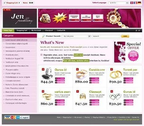 #20 for Website design for a jewellers - Please read the brief. by Mizanurahman1