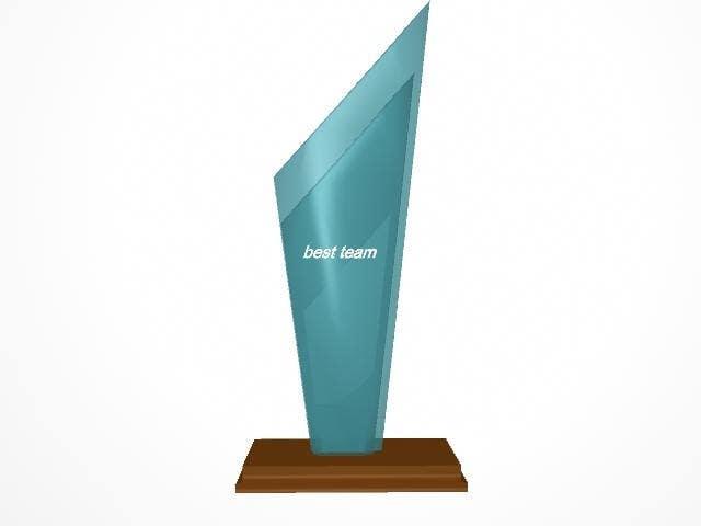 Konkurrenceindlæg #                                        18                                      for                                         Award/Trophy design for 3d Printing