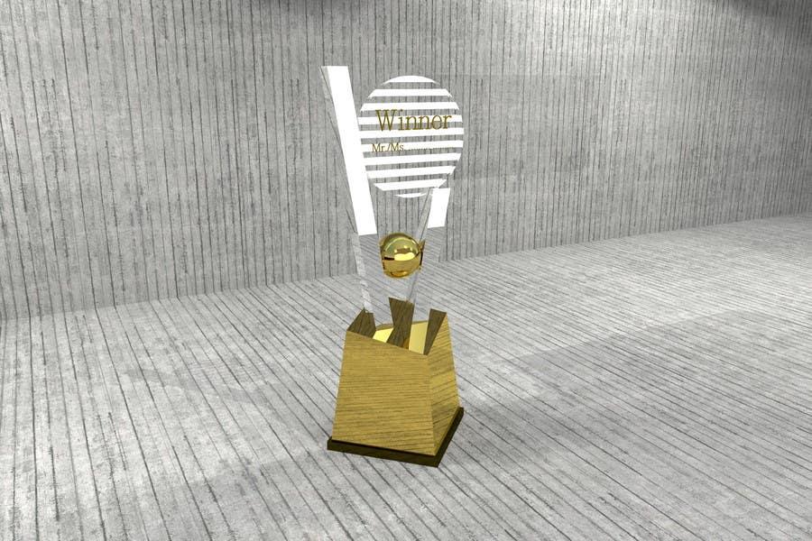 Konkurrenceindlæg #                                        14                                      for                                         Award/Trophy design for 3d Printing