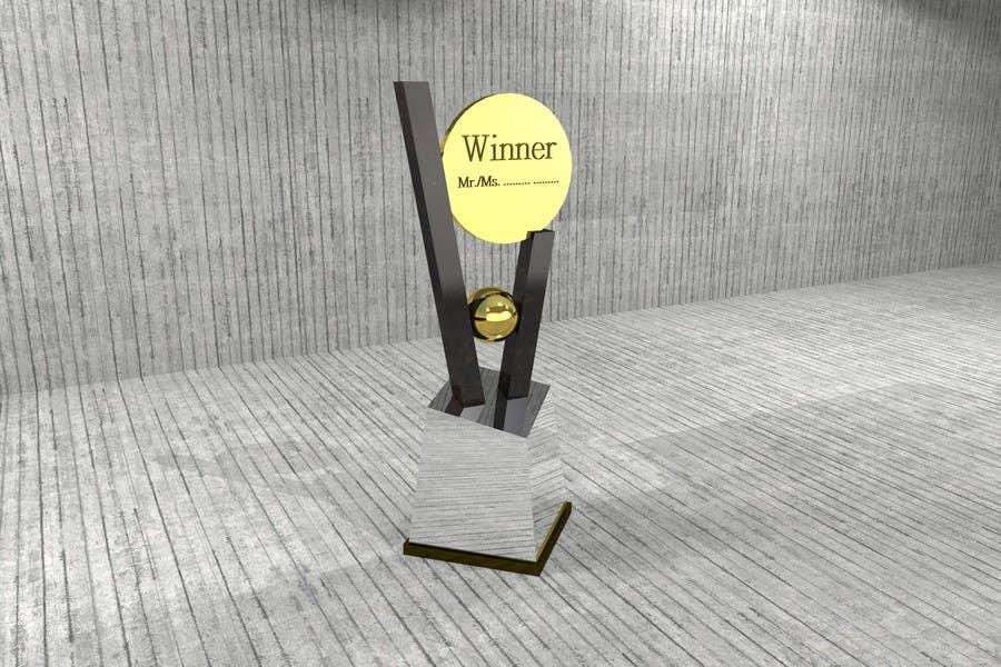 Konkurrenceindlæg #                                        15                                      for                                         Award/Trophy design for 3d Printing