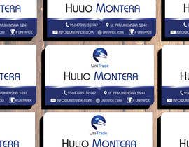 #9 untuk Design some Business Cards for an Import/Export Company, with this logo. oleh TheDesignA