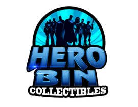 #24 cho Design a Logo for Hero Bin Collectibles bởi ralphkriss831