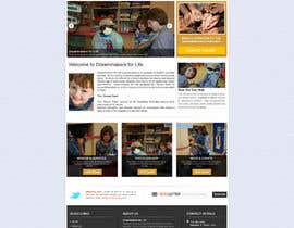 #28 untuk Design a Website Mockup for http://dreamforlife.org/ oleh sayedphp