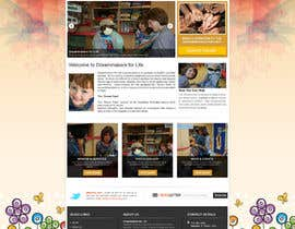 #29 para Design a Website Mockup for http://dreamforlife.org/ por sayedphp