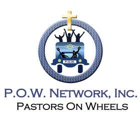 Graphic Design Contest Entry #10 for P.O.W. [Pastors On Wheels]