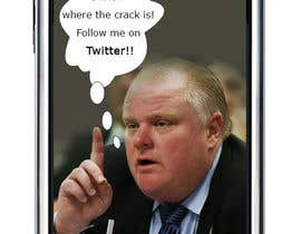 "nº 18 pour ""Rob Ford"" text message par dipakart"