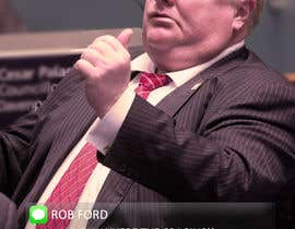 "#17 for ""Rob Ford"" text message by singhdarshan03"