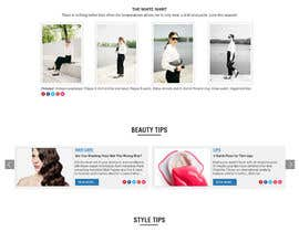 rajeev2005 tarafından Fashion Blog Template için no 11