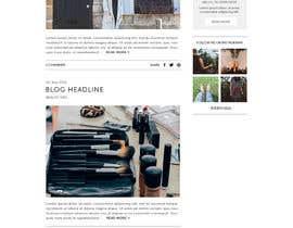 ClaudiaWind tarafından Fashion Blog Template için no 10