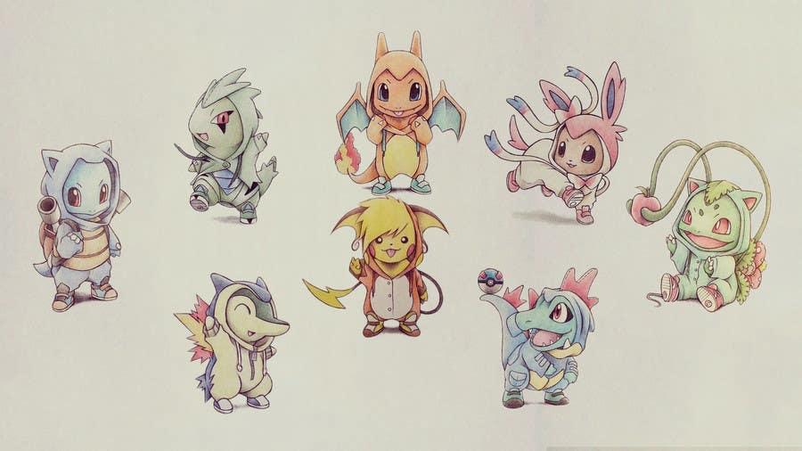 Kilpailutyö #13 kilpailussa I need 50 Pokemon Wallpapers
