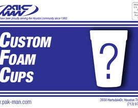 #18 for Custom Foam Cups Flyer by keivinsales1998