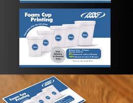 #15 for Custom Foam Cups Flyer by agkuriyodu2016