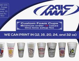Nro 5 kilpailuun Custom Foam Cups Flyer käyttäjältä AhamedAntur