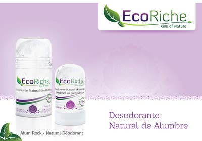 #10 para Ad design for Eco luxurious deodorant por chubbycreations