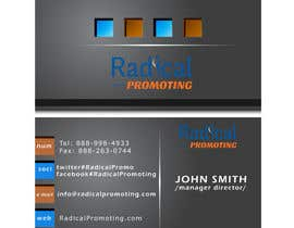 #15 for Design some Business Cards for RadicalPromoting.com af TheDesignA