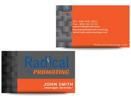 #17 for Design some Business Cards for RadicalPromoting.com af TheDesignA