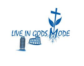 #16 for Design a Logo for 'Live in Gods mode' af SHAIKHRZ34