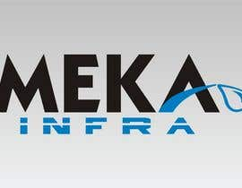 nº 245 pour Logo Design for Meka Infra par DirtyMiceDesign