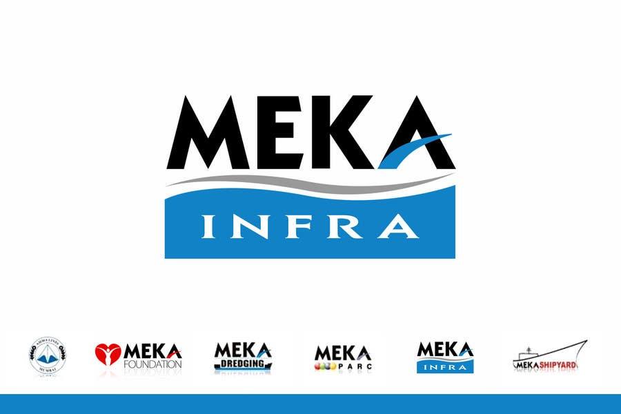 Proposition n°299 du concours Logo Design for Meka Infra