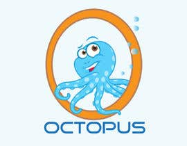 nº 59 pour Design a Logo of a cartoon octopus par tonybugas