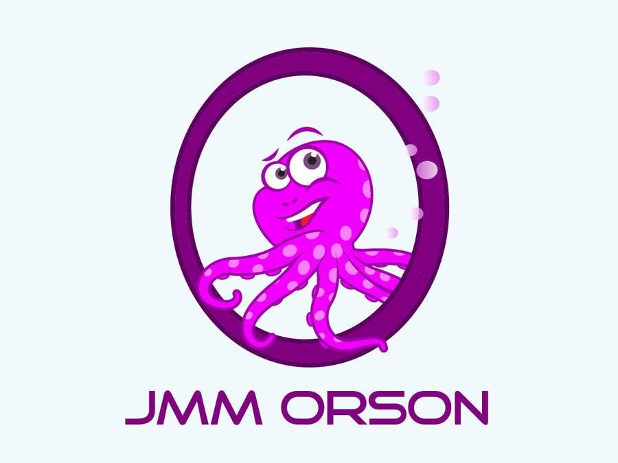 Kilpailutyö #165 kilpailussa Design a Logo of a cartoon octopus