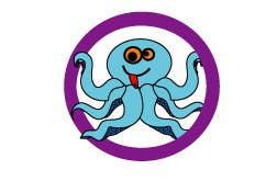 Kilpailutyö #212 kilpailussa Design a Logo of a cartoon octopus