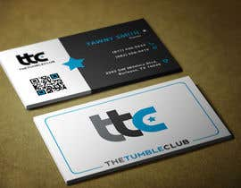 #16 untuk Design some Business Cards for The Tumble Club oleh zearogravity