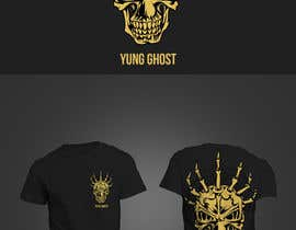 Geelator tarafından Design a logo for the rap artist Yung Ghost için no 98